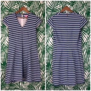 Lilly Pulitzer Bree Stripe Fit & Flare Dress Large
